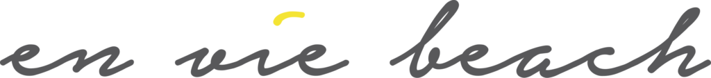 en vie beach logo