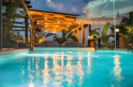 poolbynight pool lounge poollounge hotelpool boutiquehotel pooldesign holiday