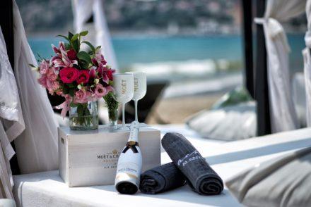 cabana beachlounge beachclub beachalanya alanya beach hotel enviebeach champagne moetchampagne