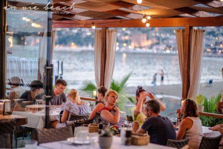 restaurant dinner wineanddine boutique hotel beach sea sunset