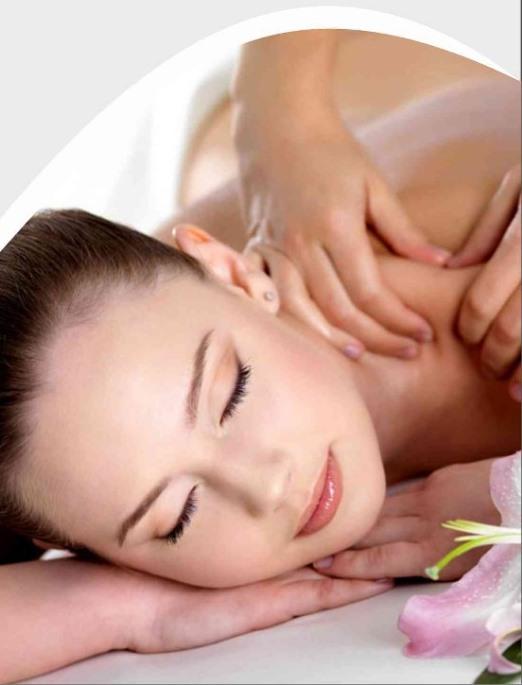 massage wellness girl spa relaxing treatment