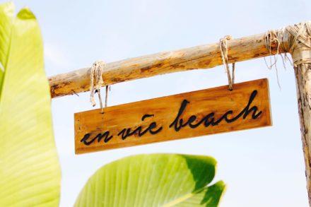 enviebeach sign beach alanya