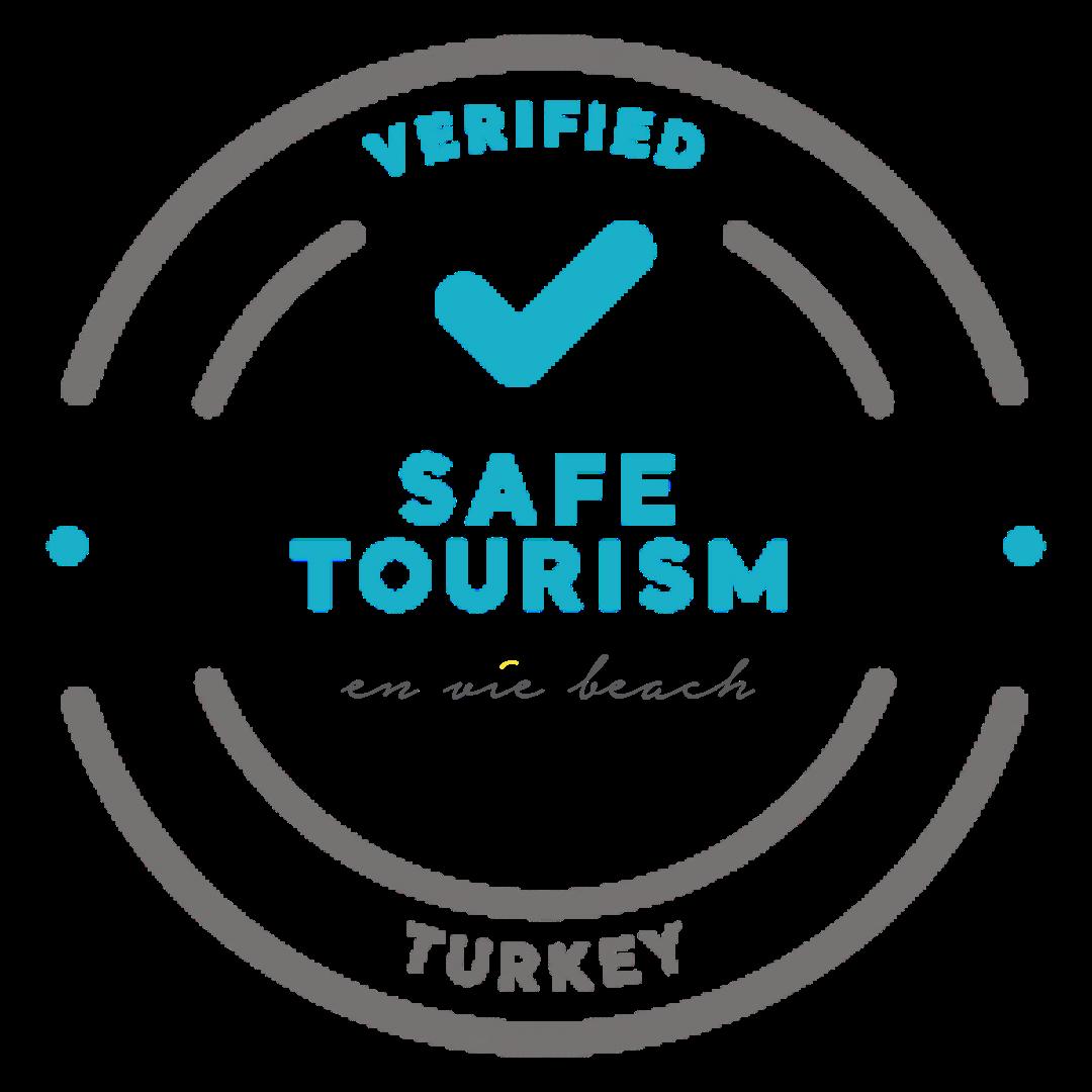 Safe tourism certificate hygenic restaurant hotel alanya turkey